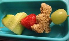 fun and healthy lunch box kebabs teddy bears hearts strawberries grapes bento box