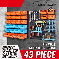 Cheap box chip, Buy Quality box directly from China box rack Suppliers: Rushed Caja De Herramientas Toolbox New Wall-mounted Storage Bin Rack Tool Parts Garage Unit Shelving Organiser Box Ad1004