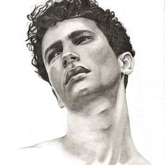 Done 👌 I'm really happy with how it came out 💪  #model #drawing #portrait #blackandwhite #pencil #pencilart #pencildrawing #art  #drawingoftheday #drawingart #polishart #polish #art_help #artistmafia #artcollective #artstagram #artstag #tumblr #handsome #blackhair #curlyhair
