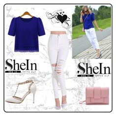 """SheIn 10"" by munevera-berbic ❤ liked on Polyvore featuring WithChic and shein"