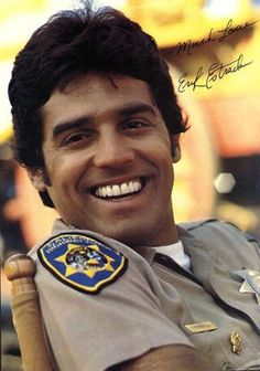 Erik Estrada, Full Page Vintage Pinup 70s Tv Shows, Old Shows, Larry Wilcox, The Originals Show, Cop Show, Chris Pine, Embedded Image Permalink, Cute Guys, Film