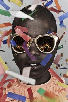Fashion's Favorite Cult Sunglasses Line Got Even Cooler #refinery29  http://www.refinery29.com/2014/10/75915/karen-walker-celebrate-anniversary-collection#slide-9