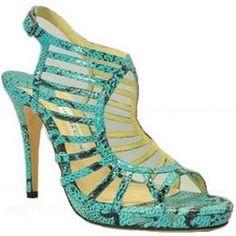 www.fashion2dream.com Jimmy Choo Pumps Keenan Metallic Caged Green