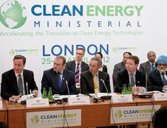 Prime Minister David Cameron at the Clean Energy Ministerial, London, alongside UK Energy Secretary Edward Davey, US Energy Secretary Steven Chu, UK Energy Minister Gregory Barker, and India's Deputy Chairman for the Planning Commission, Montek Singh Everything you need to know about geo thermal learn more at www.self-sustainable-living.com