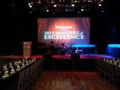 Showcase Live. 2013 Masters of Excellence.