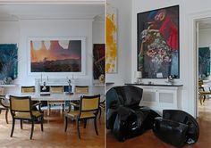 Dinig room and Living room designed by Francis Sultana Best Interior, Luxury Interior, Interior Styling, Interior Architecture, Interior And Exterior, Famous Interior Designers, Luxury Rooms, Interior Design Inspiration, Contemporary Design