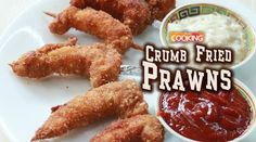 Crumb fried prawns   Ingredients:    Tiger Prawns - 250 gms  Soya Sauce - 1&1/2 tsp  Chilli Sauce - 2 tsp  Ginger Garlic Paste - 1 tsp  Juice of 1/2 lemon  Salt  Pepper - 1/2 tsp  Chilli Powder - 1/4 tsp  Corn Flour - 2 tsp  Maida (all purpose Flour) - 2 tsp  Egg - 1 no   Bread Crumbs  Oil for deep frying    Method:   1. Firstly clean and devain the prawn. To that add soya sauce chilli sauce ginger garlic paste lemon juice salt pepper chilli powder corn flour maida and Egg.  2. Mix well so…