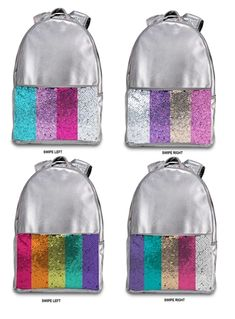 Sequin Backpack, Metallic Bag, Kids Bags, Best Sellers, Pouch, Sequins, Backpacks, Leather, Sachets