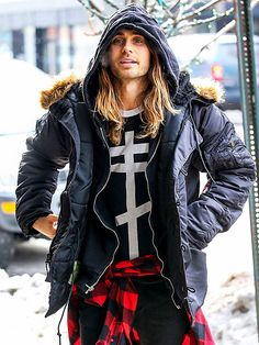 Star Tracks: Thursday, February 13, 2014 | ICE, ICE BABY | Brr, it's cold out there! Jared Leto makes freezing temperatures look hot while out in chilly New York City Wednesday.