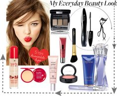 """""""My Everyday Beauty Look"""" by parisienne83 ❤ liked on Polyvore"""