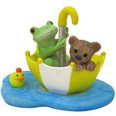 画像1: Copeau カエルとクマの傘ボート