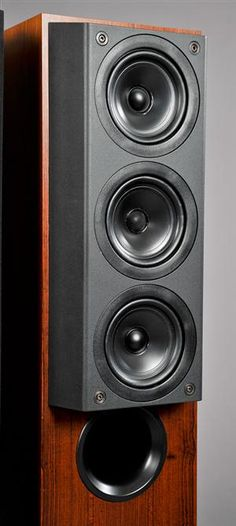 Kef 105/3 - coincidental mid bass / soft dome tweeter between normal mid bass drivers.  Best sounding cone driver speakers ever!
