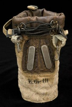 Horse's gas mask, found at a German equipment dump in Rozières, France, in August 1918 by the British Army. Wellcome Images.