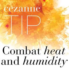 #TuesdayTip: The easiest way to introduce clients to Cezanne is when and where heat and humidity is an issue. This treatment combats moisture and manages to keep #frizz under control. #frizzfree