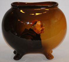 Owens Pottery Utopian Four Footed Portrait Pillow Vase (Williams)