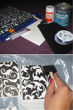 DIY - Coasters (fabric scraps?)