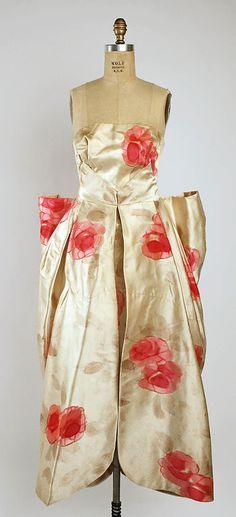 Dress (Ball Gown)  Fontana. Ca.1950