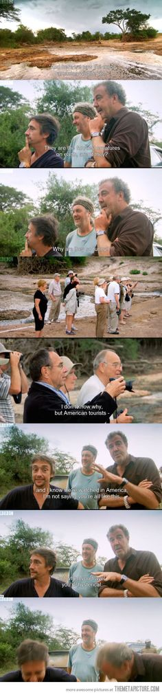 When Americans Travel… I died a little inside when I saw this on Top Gear a couple weeks ago.