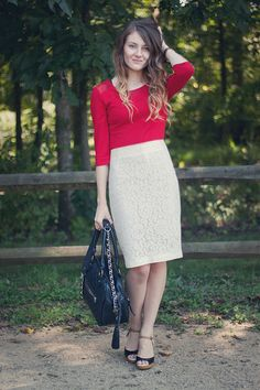 Red & Lace