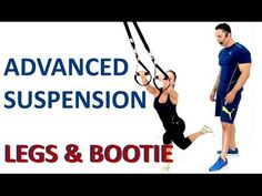 Advanced suspension trainer workout for your legs and bootie. This workout is ideal for your Bow suspension trainer and it's compatible with TRX and RIP:60 s... Trx Workouts For Women, Workout Plan For Women, Fitness Workout For Women, Fun Workouts, Workout Plans, Fitness Workouts, Fitness Tips, Suspension Workout, Suspension Trainer