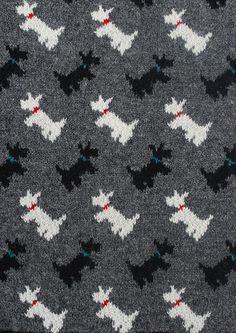 Ravelry: Scottie Dog Vest pattern by Sasha Kagan