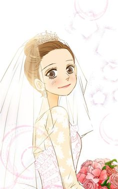 Honey Honey Wedding 📖 Anime Princess, Webtoon, You And I, Anime Art, Royalty, Old Things, Geek Stuff, Wedding, Image