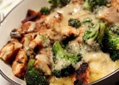 Skinny Chicken & Broccoli Alfredo – Easy Low Calories Recipes | Top recipes magazine