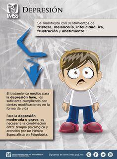 Depresión Spanish Classroom, Teaching Spanish, Depresion Infantil, Health Unit, Mental Health Counseling, My Essentials, Smurfs, The Unit, Frases