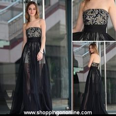 Black Evening Gown - Sexy Beaded Open Back $205.00 Click here to see more details http://shoppingononline.com/Black-Evening-Gown-Sexy-Beaded-Open-Back.html #BlackEveningGown #SexyEveningGown #EveningGowns