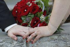 Hochzeits Fotos - Brautstrauß
