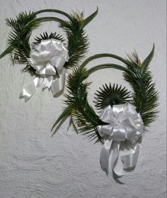 BIRDS OF PARADISE WEDDING Decor by Cole Creations (Wreaths for entrance)