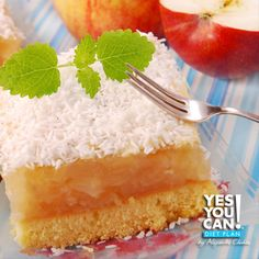 Coconut Pie - A healthy option for your Yes You Can! Diet Plan dessert
