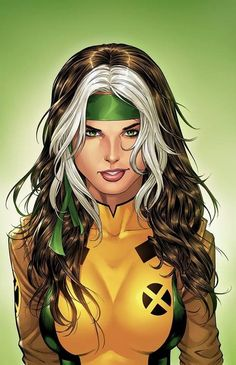 Rogue is a mutated Omega Level comic book character from Marvel Comics, a member of the X-Men and leader of the Avengers. Marvel Dc Comics, Heros Comics, Comics Anime, Marvel Heroes, Rogue Comics, Captain Marvel, Comic Book Characters, Comic Book Heroes, Marvel Characters