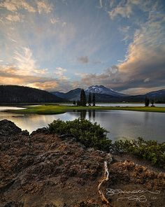South Sister Sunset | by Gary Randall