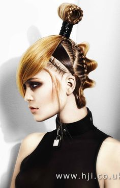 Ashley Haynes and Charlotte Oldfield – Eastern Hairdresser of the Year Finalist Collection
