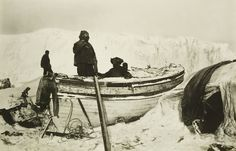 Frank Hurley (1885-1962) - Preparing for the relief voyage to South Georgia