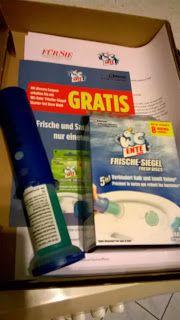 fraukatz-testet: Der Klecks im WC