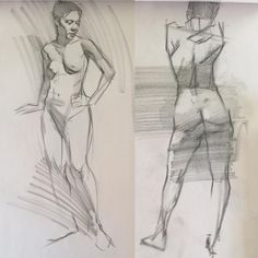 10 minutes and 5 or 3 not sure. Charcoal on newsprint. Gesture Drawing, Life Drawing, Drawing Sketches, Art Drawings, Figure Drawings, Drawing Art, Sketching, Drawing Studies, Quick Sketch