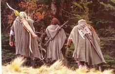 Fangorn, The Hunters enter the Forest photo unusedscene261HuntersenterFangorn.jpg