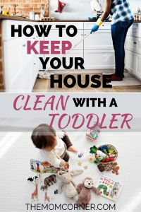 Wondering if you will ever get your house clean with a toddler following you around? Believe it or not, you can have a toddler and a clean house!