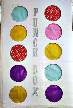 A PUNCH BOX is an excellent alternative to a pinata.  (It's safer too!)  Learn how to make one for your little one's next party with this detailed tutorial.