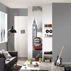 Londres es nuestras paredes! Crear ambientes chic y urbanos nos resultará economico y facil de conseguir! https://papelvinilicoonline.com/es/178-accent