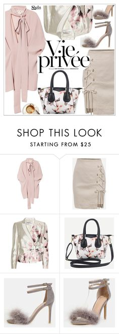 """Shein"" by teoecar ❤ liked on Polyvore featuring Marni, WithChic and Valentino"