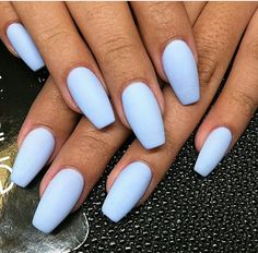 Cute Acrylic Nails 698691329669438924 - Best Acrylic Nails for 2018 – 54 Tren. - Cute Acrylic Nails 698691329669438924 – Best Acrylic Nails for 2018 – 54 Trending Acrylic Nail - Diy Acrylic Nails, Coffin Nails Matte, Stiletto Nails, Blue Matte Nails, Baby Blue Nails, Acrylic Nails For Summer Coffin, Coffin Nails Short, Acrylic Nail Designs For Summer, Pastel Blue Nails