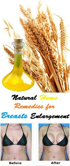 Natural Home Remedies for Breast Enlargement