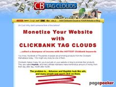 CB Tag Clouds - Get a Downpour of Effortless Profits from Your Blog - http://desktop3dprinters.us/3d-2/cb-tag-clouds-get-a-downpour-of-effortless-profits-from-your-blog/