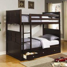 Jasper Twin/Twin Bunk Bed with Storage