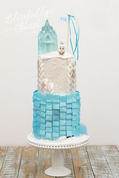 Love this Frozen cake!