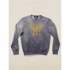 9523bdb86e9 Men s Blue Fleece Graphic Sweatshirt