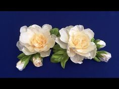 Welcome to my channel - Avonessa Fabric Flowers. Ribbon Embroidery Tutorial, Ribbon Flower Tutorial, Hand Embroidery Flowers, Bow Tutorial, Satin Flowers, Felt Flowers, Fabric Flowers, Ribbon Art, Diy Ribbon